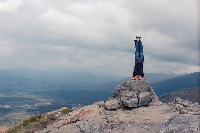 What I Learned About Life From Standing On My Head